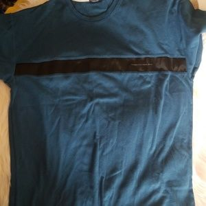 Tommy Hilfiger Jeans Blue Green T Shirt